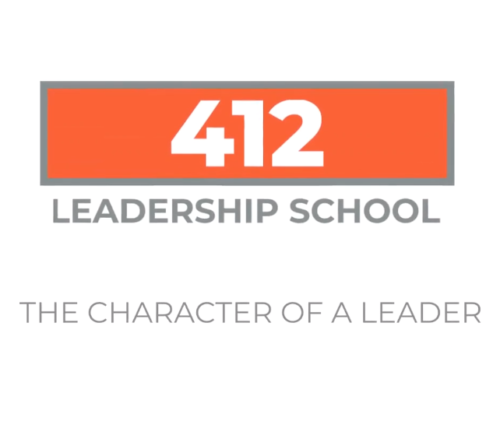 412 Leadership School - The Character of a Leader